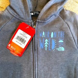 NEW NORTH FACE Surgent full zip hoodie gray med 🚣